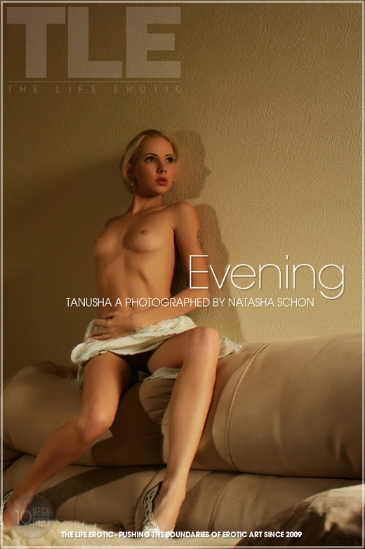 Tanusha A - `Evening` - by Natasha Schon for THELIFEEROTIC