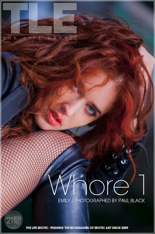 Emily J - `Whore 1` - by Paul Black for THELIFEEROTIC