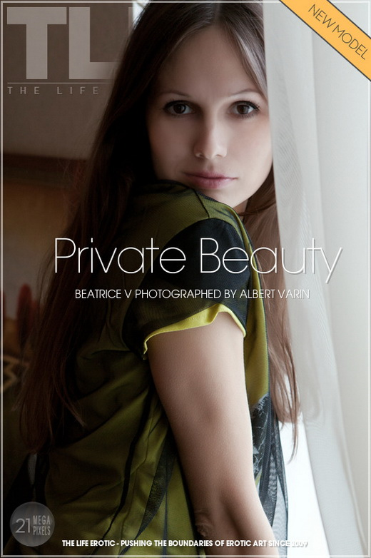 Beatrice V - `Private Beauty` - by Albert Varin for THELIFEEROTIC
