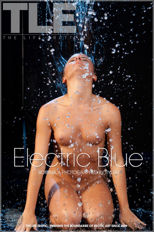 Romina A - `Electric Blue` - by Rylsky for THELIFEEROTIC