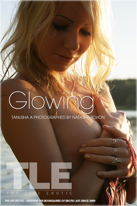 Tanusha A - `Glowing` - by Natasha Schon for THELIFEEROTIC