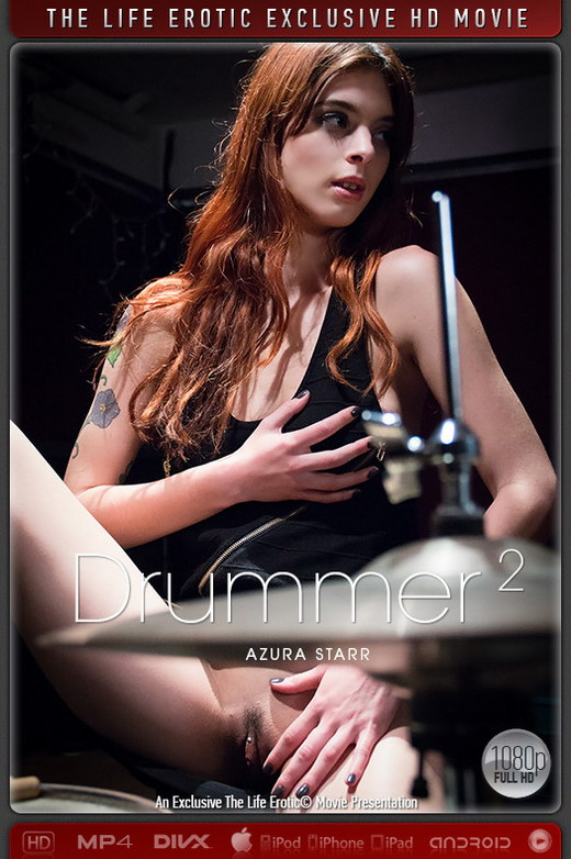 Azura Starr - `Drummer 2` - by Sam Bruno for THELIFEEROTIC