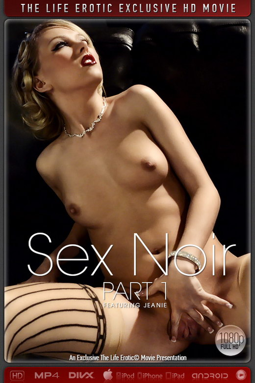 Jeanie - `Sex Noir Part 1` - by Chris King for THELIFEEROTIC