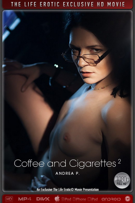Andrea P - `Coffee And Cigarettes 2` - by Paul Black for THELIFEEROTIC