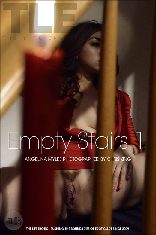 Angelina Mylee - `Empty Stairs 1` - by Chris King for THELIFEEROTIC