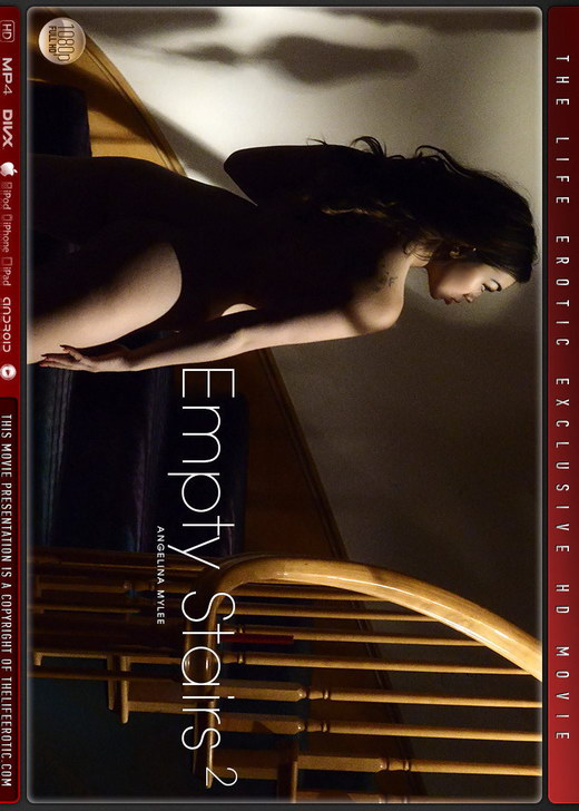 Angelina Mylee - `Empty Stairs 2` - by Chris King for THELIFEEROTIC