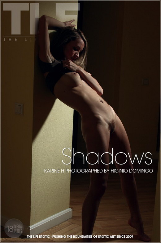 Karine H - `Shadows` - by Higinio Domingo for THELIFEEROTIC