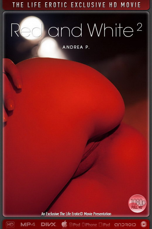 Andrea P - `Red And White 2` - by Paul Black for THELIFEEROTIC