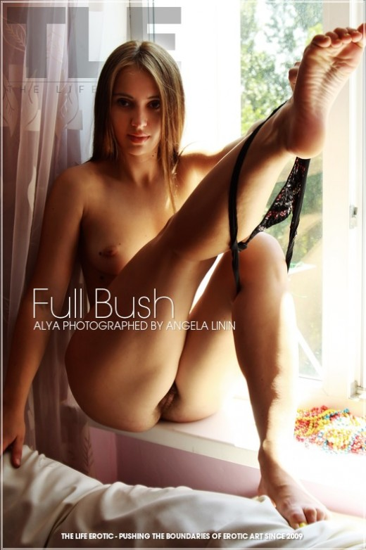 Alya in Full Bush gallery from THELIFEEROTIC by Angela Linin