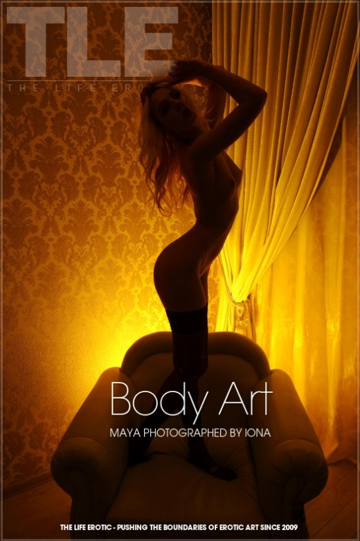 Maya in Body Art gallery from THELIFEEROTIC by Iona