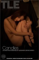 Lavana in Candles gallery from THELIFEEROTIC by Aleksandr Obyknovennyj