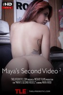 Maya Virdi in Maya's Second Video 2 video from THELIFEEROTIC by Sam Bruno