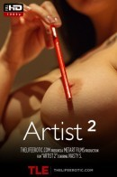 Nasty S in Artist 2 video from THELIFEEROTIC by Nick Twin