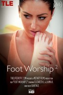 Elizabeth L & Laima R in Foot Worship 2 video from THELIFEEROTIC by Xanthus