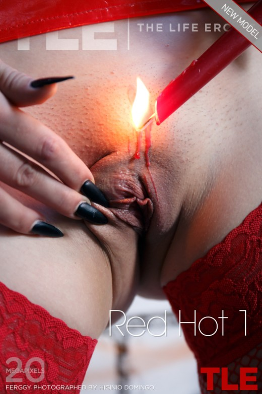 Ferggy in Red Hot 1 gallery from THELIFEEROTIC by Higinio Domingo