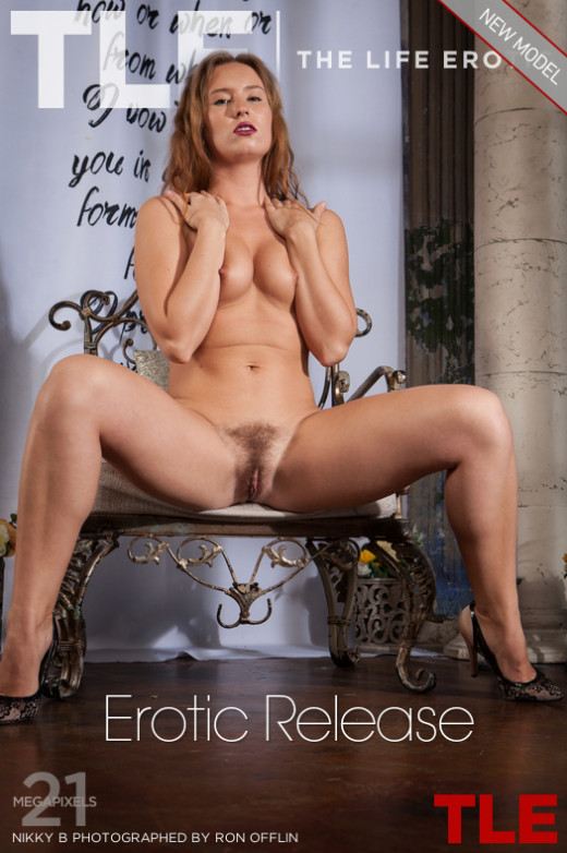 Nikky B - `Erotic Release` - by Ron Offlin for THELIFEEROTIC