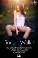 Maria Z in Sunset Walk 2 video from THELIFEEROTIC by Higinio Domingo