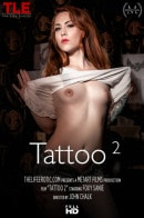 Foxy Sanie in Tattoo 2 video from THELIFEEROTIC by John Chalk