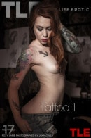 Foxy Sanie in Tattoo 1 gallery from THELIFEEROTIC by John Chalk