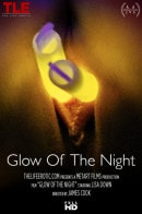 Lisa Dawn in Glow Of The Night video from THELIFEEROTIC by James Cook
