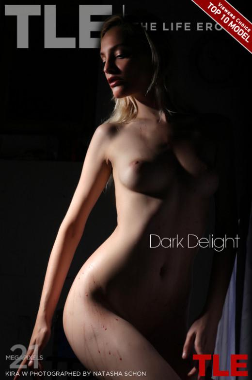 Kira W - `Dark Delight` - by Natasha Schon for THELIFEEROTIC