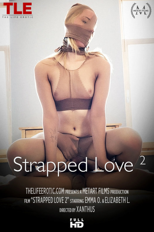 Elizabeth L & Emma O - `Strapped Love 2` - by Xanthus for THELIFEEROTIC