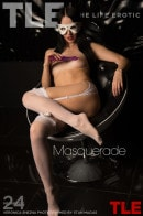 Veronica Snezna in Masquerade gallery from THELIFEEROTIC by Stan Macias
