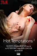 Amaris & Elina De Lion in Hot Temptations 2 video from THELIFEEROTIC by Red Fox