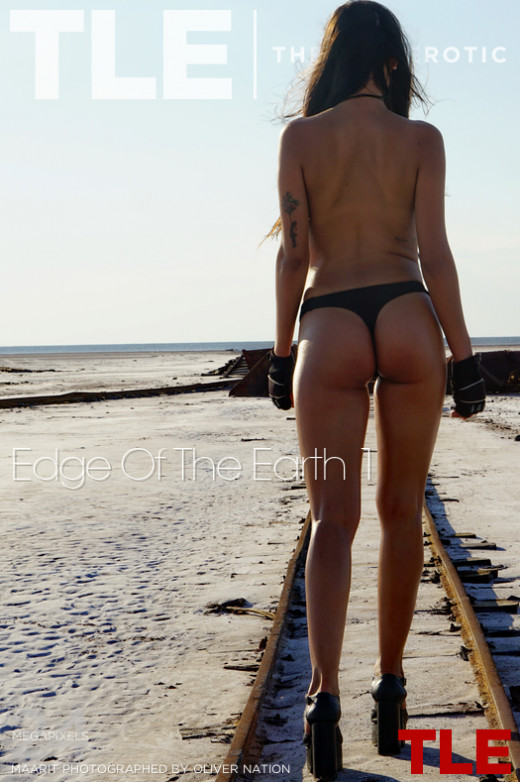 Maarit in Edge Of The Earth 1 gallery from THELIFEEROTIC by Oliver Nation