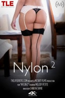 Melody Petite in Nylon video from THELIFEEROTIC by Sandra Shine