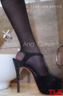 Petra in Heels And Corset 1 gallery from THELIFEEROTIC by Alana H