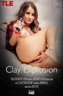 Juanita A in Clay Explosion video from THELIFEEROTIC by Red Fox