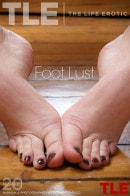 Hannah A in Foot Lust gallery from THELIFEEROTIC by Higinio Domingo