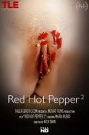 Maria Rubio in Red Hot Pepper video from THELIFEEROTIC by Nick Twin