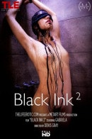 Gabriela in Black Ink video from THELIFEEROTIC by Denis Gray