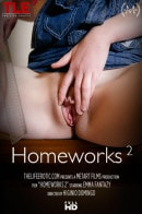 Emma Fantazy in Homeworks video from THELIFEEROTIC by Higinio Domingo
