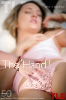 Blue Angel in The Hand 1 gallery from THELIFEEROTIC by Sandra Shine