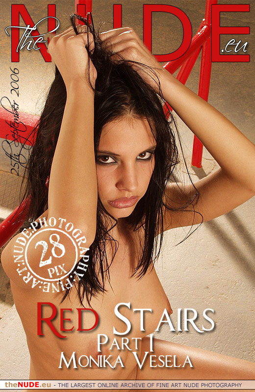 Monika Vesela - `Red Stairs - Part I` - for THENUDE