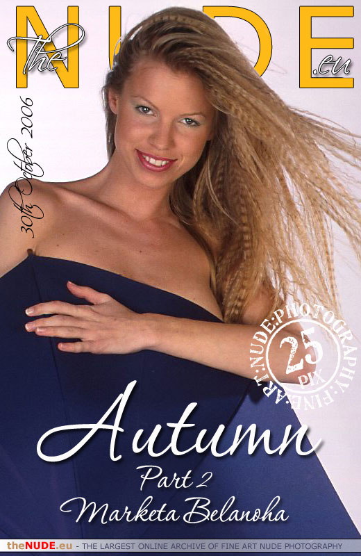 Marketa Belanoha - `Autumn - Part II` - for THENUDE