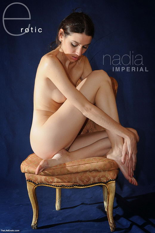 Nadia - `Imperial Blue` - for TLE ARCHIVES