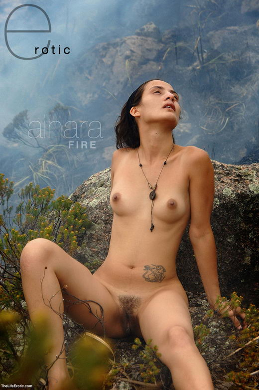 Ainara - `In A Fire` - for TLE ARCHIVES