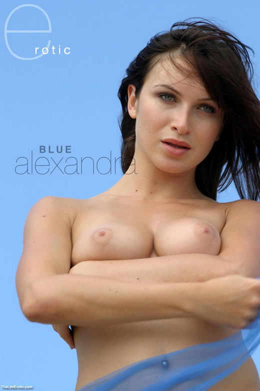 Alexandra - `Blue Scarf` - for TLE ARCHIVES