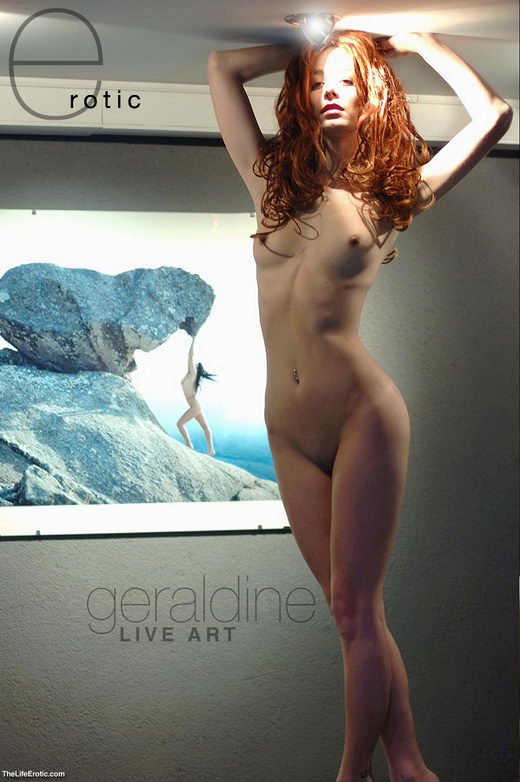 Geraldine - `Live Art` - for TLE ARCHIVES