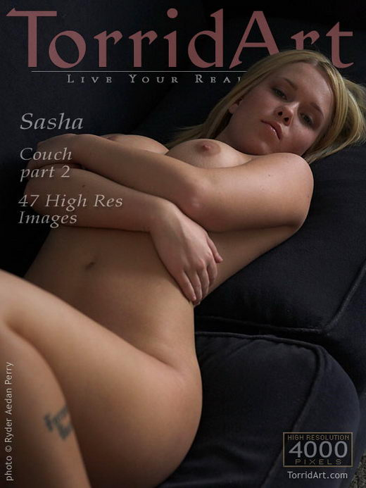 Sasha - `Couch Part 2` - by Ryder Aedan Perry for TORRIDART