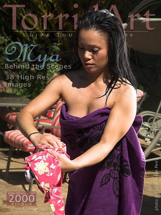 Mya in Behind The Scenes gallery from TORRIDART by Ryder Aedan Perry