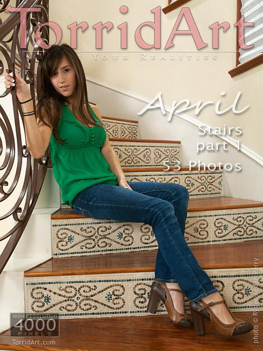 April - `Stairs - Part 1` - by Ryder Aedan Perry for TORRIDART