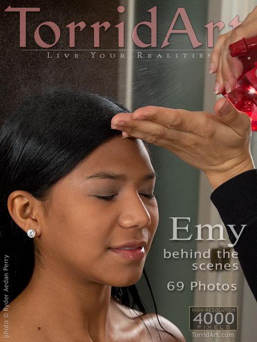 Emy - `Behind the Scenes` - by Ryder Aedan Perry for TORRIDART