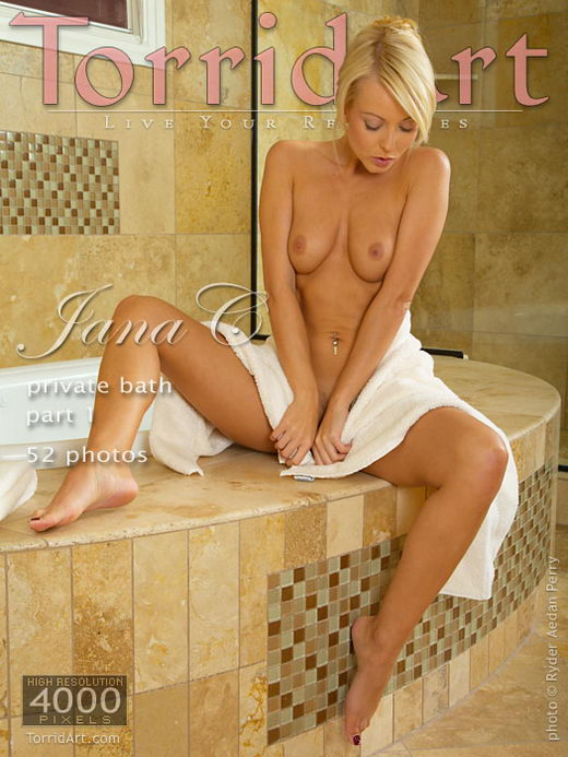 Jana C - `Private Bath - Part 1` - by Ryder Aedan Perry for TORRIDART