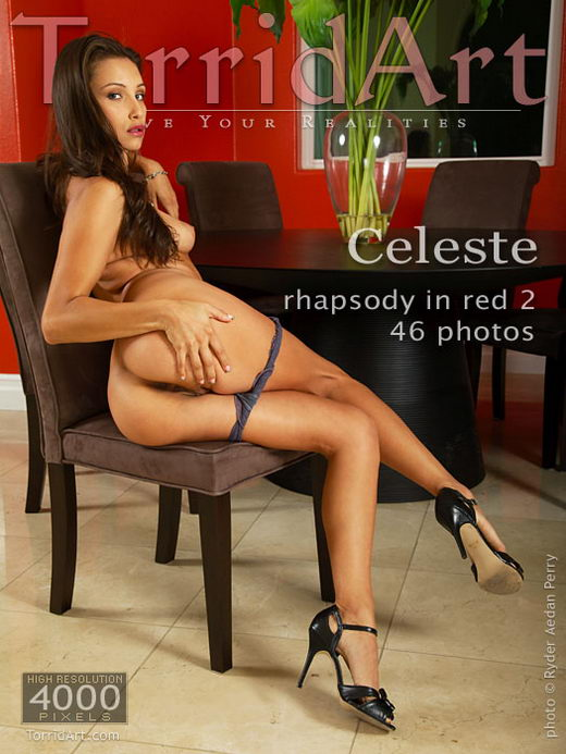 Celeste - `Rhapsody in Red 2` - by Ryder Aedan Perry for TORRIDART