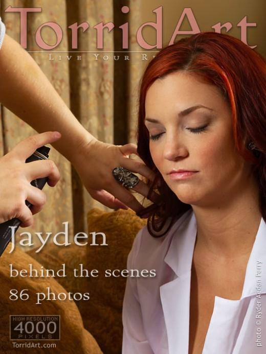 Jayden - `Behind The Scenes` - by Ryder Aedan Perry for TORRIDART